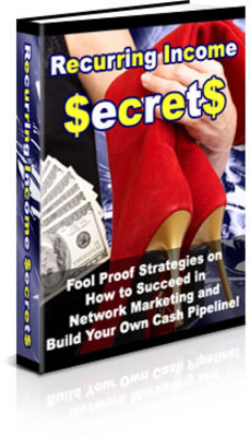 Product picture Recurring Income Secrets
