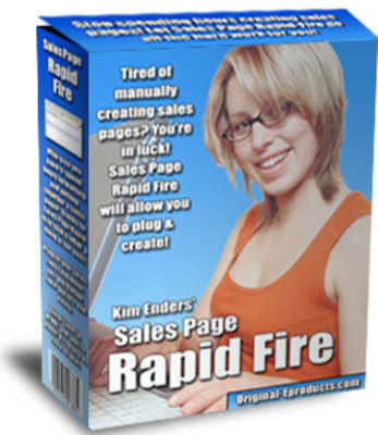 Product picture Sales Page Rapid Fire
