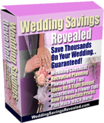 Product picture Wedding Savings Revealed