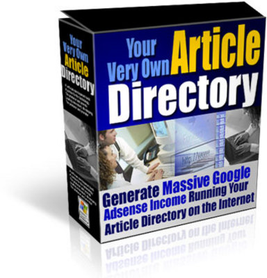 Product picture Your Very Own Article Directory