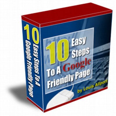 Product picture 10 Easy Steps To A Google Friendly Page