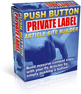 Product picture Push button Private label Aricle Site Builder